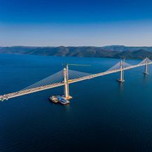 Pelješki most iz zraka - 2