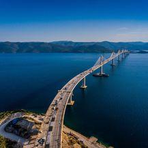 Pelješki most iz zraka - 3