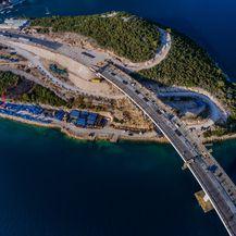 Pelješki most iz zraka - 4