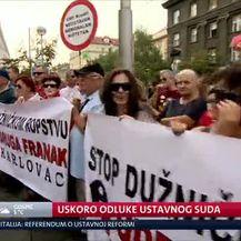 Uskoro odluke Ustavnog suda (Video: Dnevnik Nove TV)