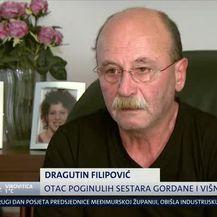 Roditelji sestara Filipović (Video: Dnevnik Nove TV)