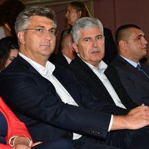 Plenković i Čović (Foto: Ivica Galovic/PIXSELL)