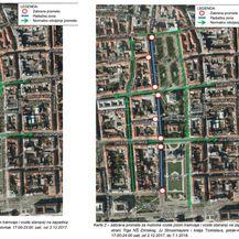 Regulacija prometa za vrijeme trajanja Adventa u Zagrebu (Foto: PUZ)