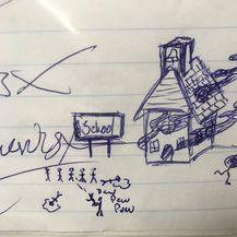 Crtež šokirao školu, odmah pozvali policiju (Foto: Gulf County Sheriff/Twitter) - 1