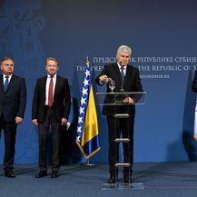 Sastanak u Beogradu (Foto: AFP)
