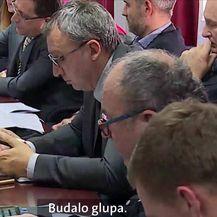 Kerum izgubio živce (Video: Dnevnik Nove TV)