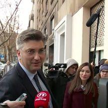 Andrej Plenković dao podršku ministrici Nadi Murganić (Video: Dnevnik.hr)