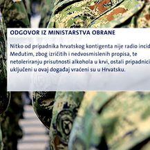 Zbog pijanstva vojnici vraćeni iz misije (Foto: Dnevnik.hr) - 2