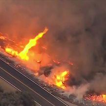 Kalifornija u borbi s požarima (Video: Dnevnik Nove TV)