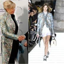 Brigitte je nosila kaput modne kuće Louis Vuitton