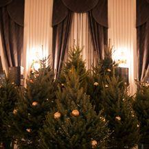 Ukrašeni borovi za blagdansku večeru Ivana Alduka (Foto: Sarah&Ino)
