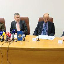 Konferencija za novinare krim policije (foro: Dnevnik.hr)
