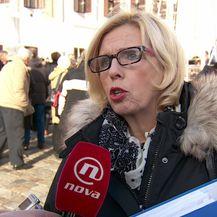 Danica Stipović iz Nezavisnog sindikata Dalmacijavina (Foto: Dnevnik.hr)