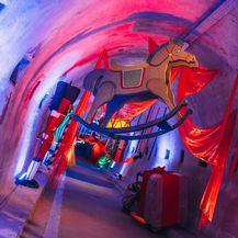 Božićna bajka u tunelu Grič nastavlja se sa scenografijom nazvanom 'Želja'