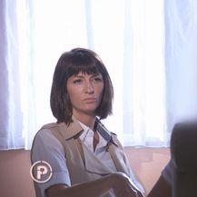 Ivana Paradžiković razgovara s radnikom PIK Vrbovca (Foto: Provjereno)