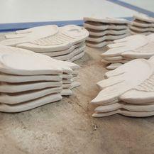 Proces izrade traje oko dva tjedna tijekom kojih može nastati desetak komada sovica (Foto: Dunja Delić)