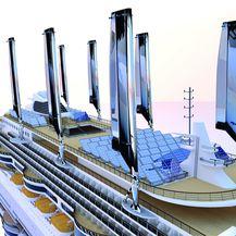 Solarni paneli na brodu