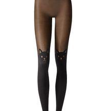 Čarape iz Calzedonije s motivom mačke