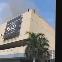 Požar u trgovačkom centru u Davaou (Screenshot APTN)