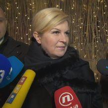 Kolinda Grabar Kitarović na misi u Karlovcu (Foto: Dnevnik.hr) - 1