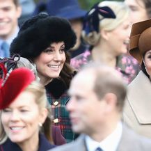 Meghan Markle i Catherine Middleton na božićnoj misi - 2