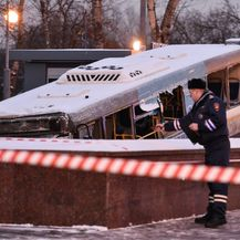 Nesreća u Moskvi (Foto: AFP)