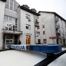 Zgrada u kojoj je pronađeno tijelo muškarca (Foto: Slavko Midzor/PIXSELL)
