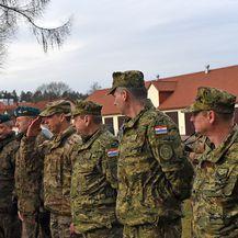 Ministar Krstičević u obilasku hrvatskih vojnika u Poljskoj (Foto: MORH) - 4