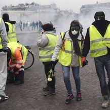 Prosvjedi u Parizu (Foto: AFP) - 4