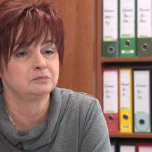 Predsjednica sindikata maftnog građevinarstva Jasna Pipunić (Foto: Dnevnik.hr)