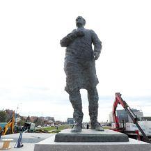 Novi spomenik Franji Tuđmanu (Foto: Goran Stanzl/Pixsell)
