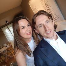 Luka Modrić i Antonija Mužar (Foto: Instagram)