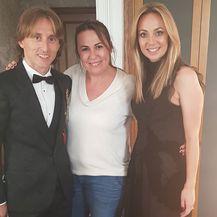Luka i Vanja Modrić, Antonija Mužar (Foto: Instagram)