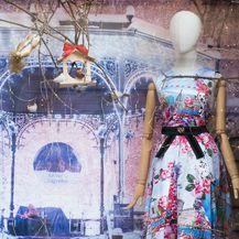Božićno uređenje izloga dućana modnog dvojca ELFS - 5