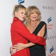 Melanie Griffith i Goldie Hawn (Foto: AFP)