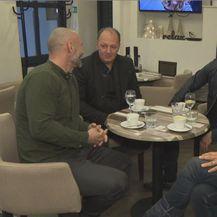 Davor Garić, Ivica Šeperić, Ivan Zak, i Jasmin Stavros (Foto: Dnevnik.hr)