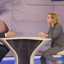 Ministar zdravstva Milan Kujundžić i Ivana Brkić Tomljenović (Foto: Dnevnik.hr)