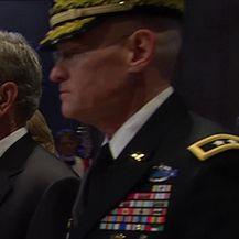 Oproštaj od Georgea Busha starijeg (Video: Večernje vijesti Nove TV)