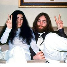 John Lennon i Yoko Ono (Foto: Getty Images)