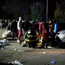 Stampedo u noćnom klubu nedaleko od Ancone (Foto: AFP)