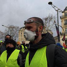 Prosvjed u Pariz (VIDEO: Ana Malbaša)