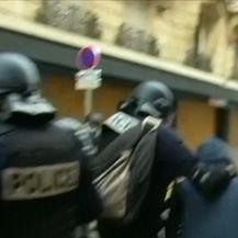 Tijekom prosvjeda u Parizu došlo do sukoba prosvjednika i policije (Video: Dnevnik Nove TV)