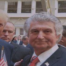 Vladimir Kraljević, vlasnik licence Miss Universe za Hrvatsku, i američki predsjednik Donald Trump (Foto: Dnevnik.hr)