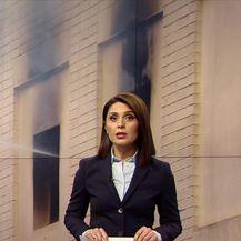 Požar uhvato Tankerkomercevu zgradu u Zadru (Video: Vijesti u 17h)