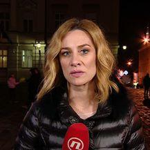 Ivana Brkić Tomljenović razgovara s parom o novom donesenom zakonu (Foto: Dnevnik.hr)