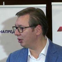 Izjava predsjednika Vučića o napadu (Video: Dnevnik Nove TV)