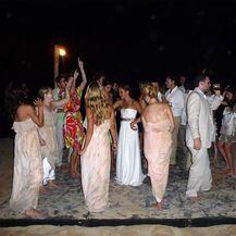 Vjenčanje Meghan Markle i Trevora Engelsona (Foto: Profimedia)