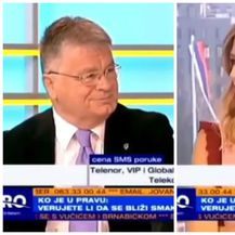 Dejan Lučić, Jovana Joksimović (FOTO: Screenshot PrvaTV)