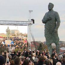 Otkriven spomenik Franji Tuđmanu (Foto: Dnevnik.hr)