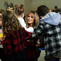 Melania Trump u vojnoj bazi u Washingtonu - 3